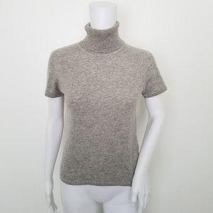 Evelyn Petite 100%Cashmere Turtleneck Sweater P